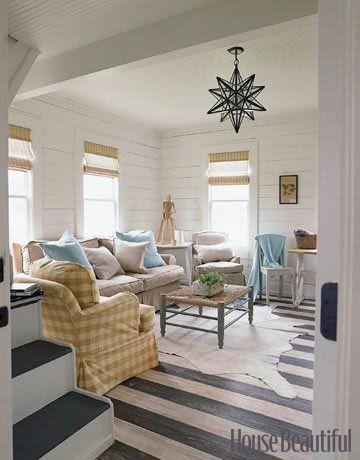 home decor, home design, striped floors, chandelier