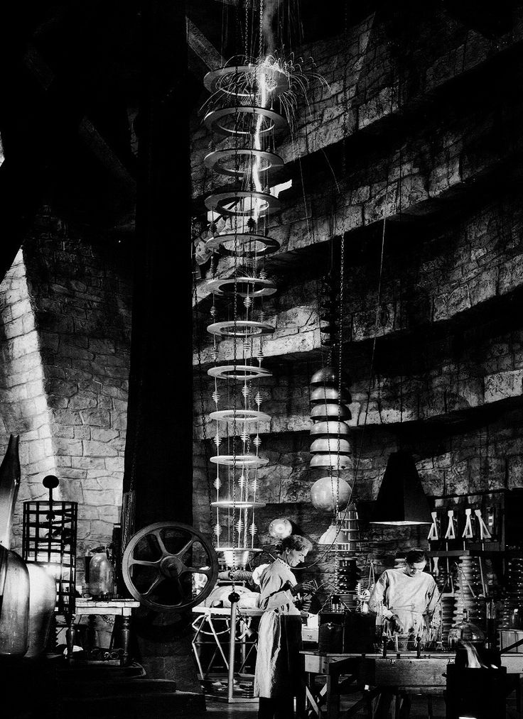 The Lab, Bride of Frankenstein, 1935