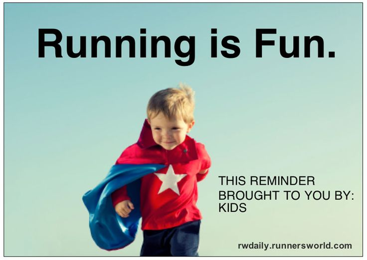 Run for the fun of it! If you're struggling to keep going, try to forget your goals and enjoy the process- Running is Fun!