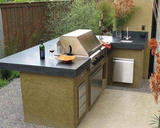 Barbecue in giardino idee e ispirazioni guida giardino - Costruire un mobiletto ...