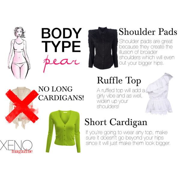 """""""Dress For Your Body Type: Pear"""" by delightoftheyoung on Polyvore"""