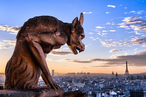 Paris | gargoyles!
