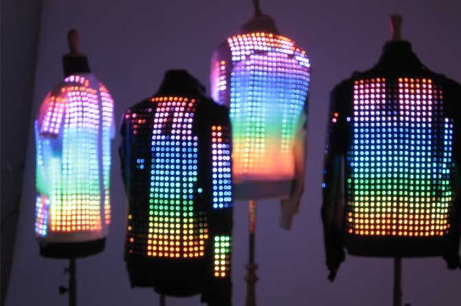 Cute Circuit Illuminated fashion