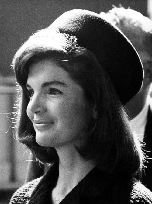 Jackie Kennedy the First Lady who made these great little hats popular in the 60's