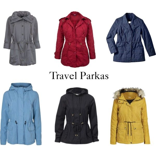 """Travel Parkas"" by beavercity on Polyvore"