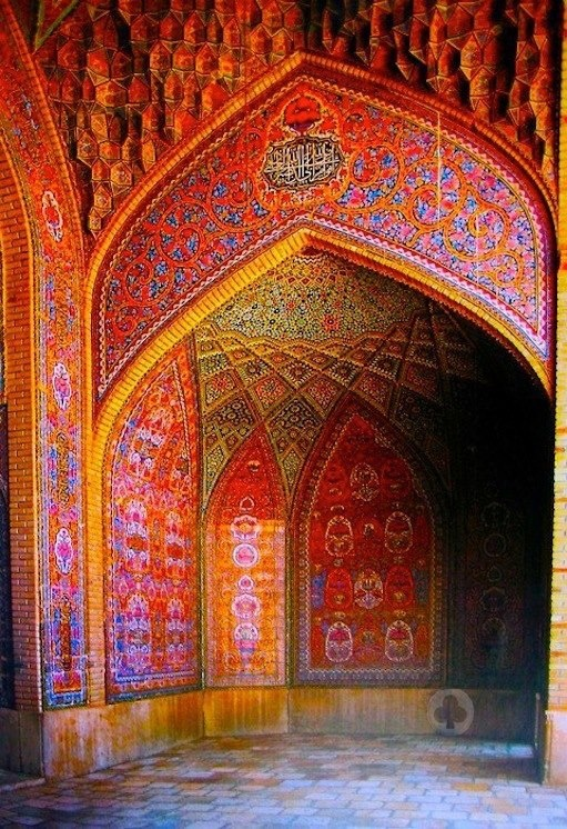 Nasir al-Mulk Mosque in Shiraz, IranNasir al-Mulk Mosque in Shiraz, Iran