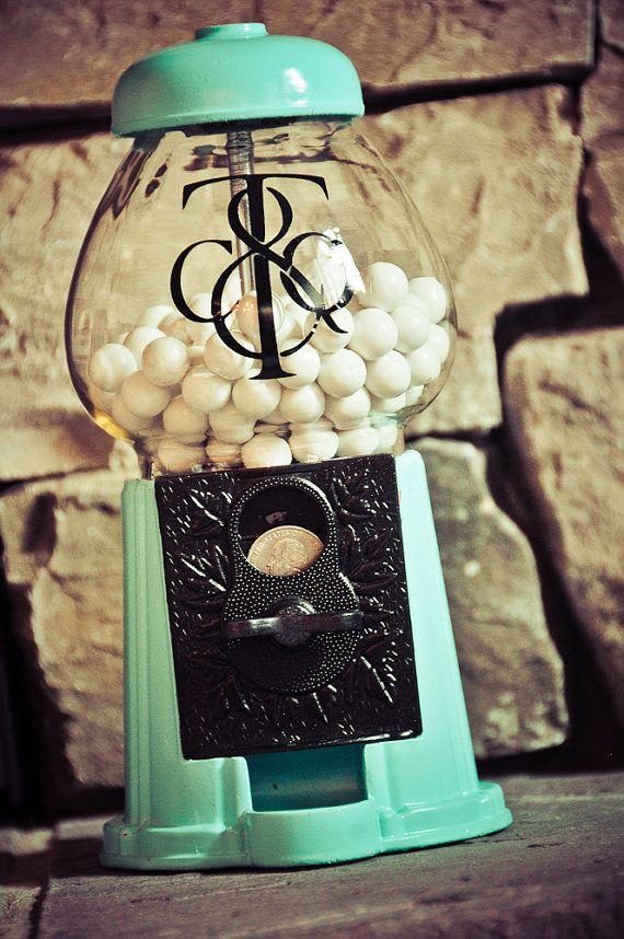 Gumball Machine Wedding Inspiration on earlyivy.com