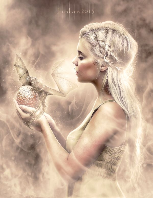 Daenerys by J-u-d-a-s.deviant... on @deviantART