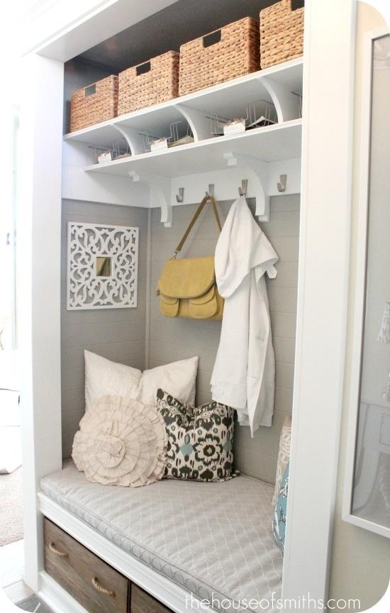 Hallway closet nook