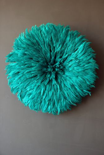 Fun with feathers: Juju hat wall hanging