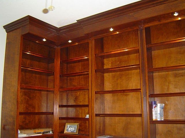 Built In Bookcase - Floor To Ceiling