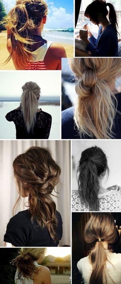 Boa tarde! Veja algumas dicas de cabelo bagunçadinho pra fugir do calor!