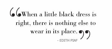 Image result for little black dress quotes