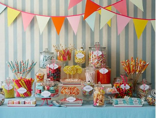 Wedding Trends - Candy Bars