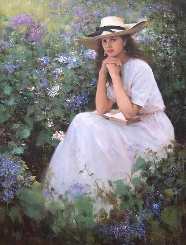 # An He : portrait painting #