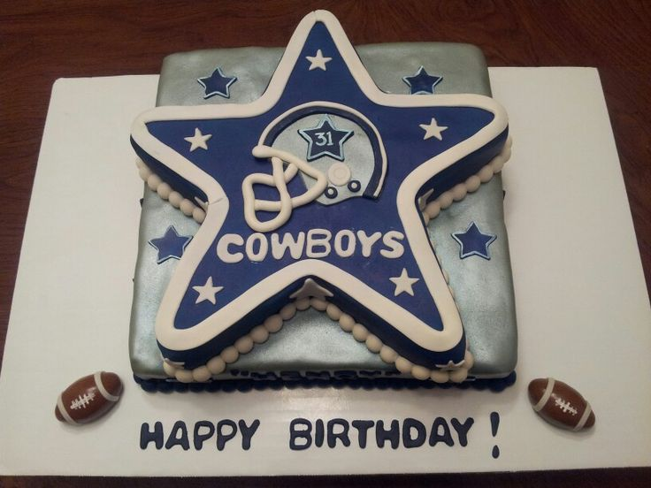 Cool Dallas Cowboys Wedding Cake Dallas Cowboys Wedding Cake Toppers Personalised Birthday Cards Paralily Jamesorg