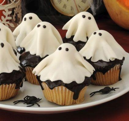 Ideas cupcakes fiesta halloween