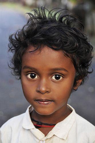 Bambino indiano - India del sud