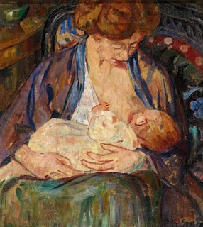 5 gauguin on breastfeeding