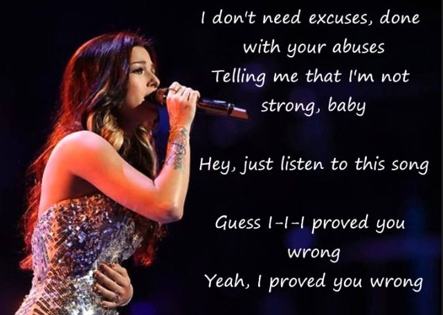 Proved You Wrong- Cassadee Pope
