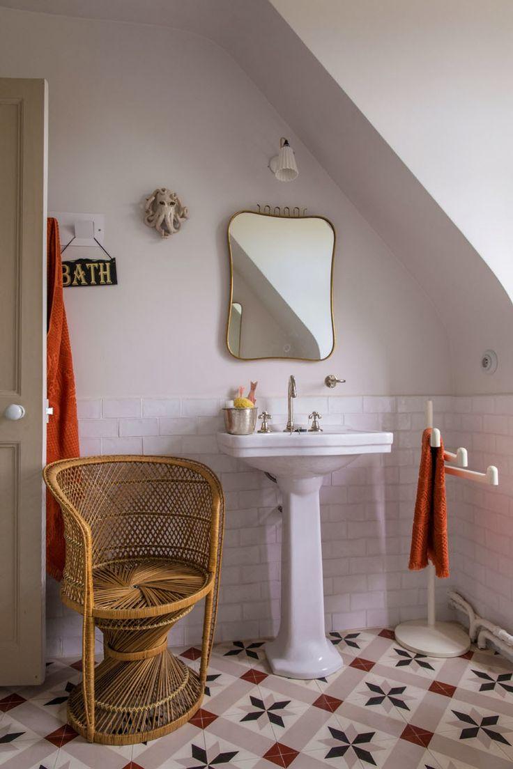 Inspiration salle de bain r tro for Inspiration salle de bain