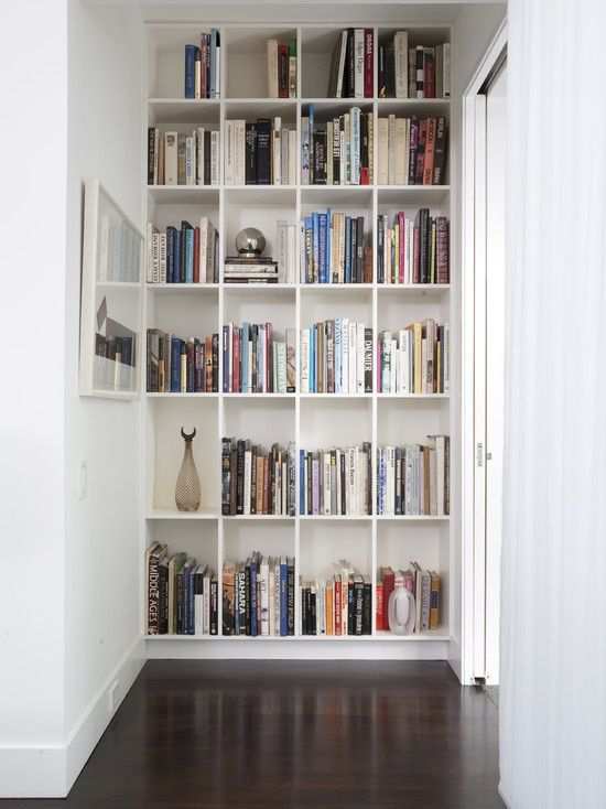 we should contemplate built in bookshelves in the formal living room as well as the informal dining space.