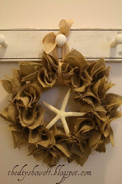 DIY Show Off ~ Super Easy Burlap Wreath TutorialDIY Show Off ™ – DIY Decorating and Home Improvement Blog