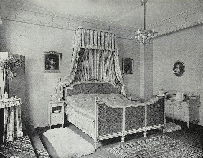 Louis XVI sytle bedroom, 1904