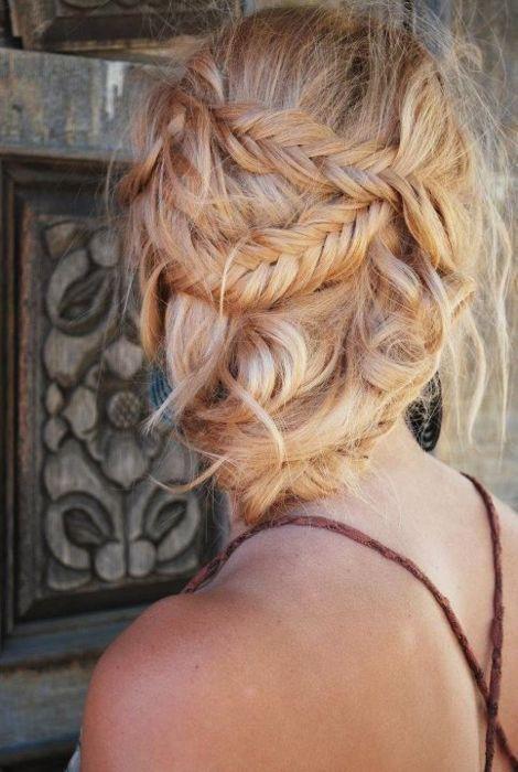 braid, braids, fishtail braid, hair