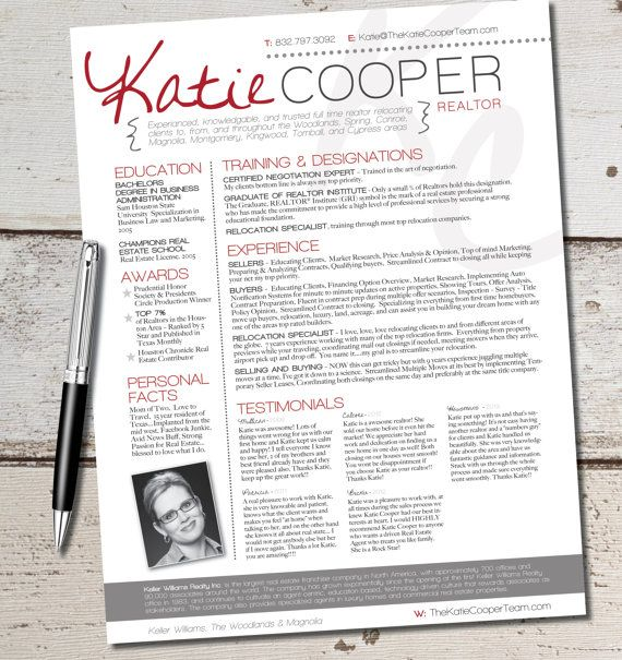 the cooper template graphic marketing sales