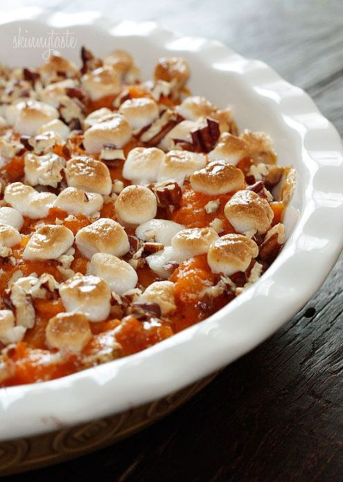 Sweet Potato Casserole - Skinny Taste
