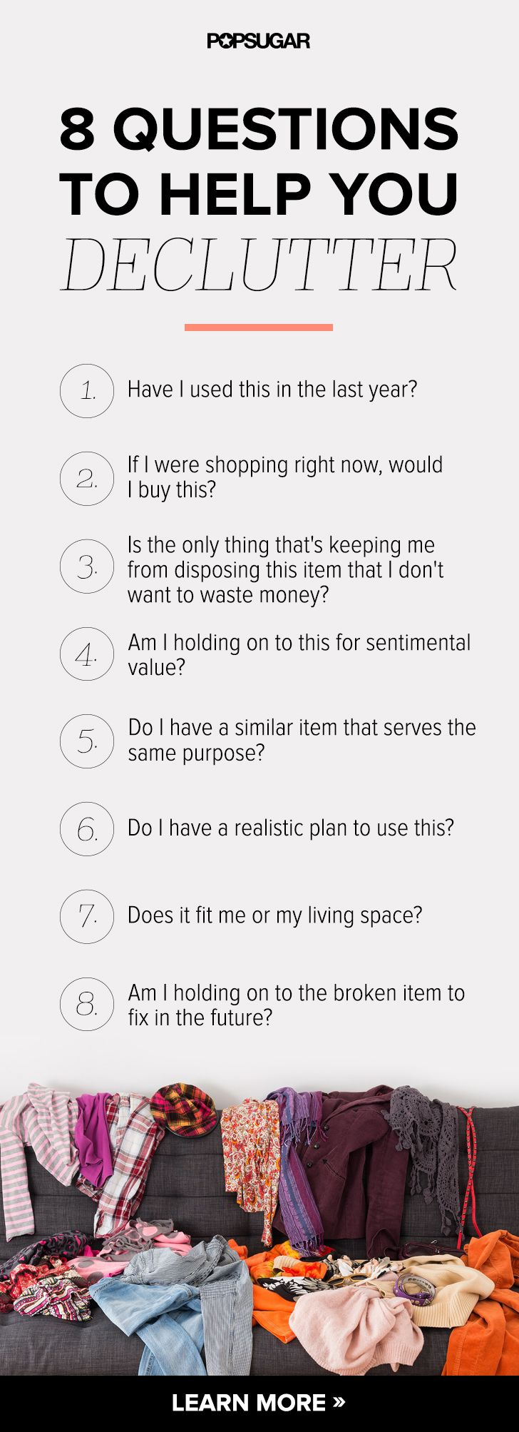 8 Questions to Ask Yourself to Help You Declutter