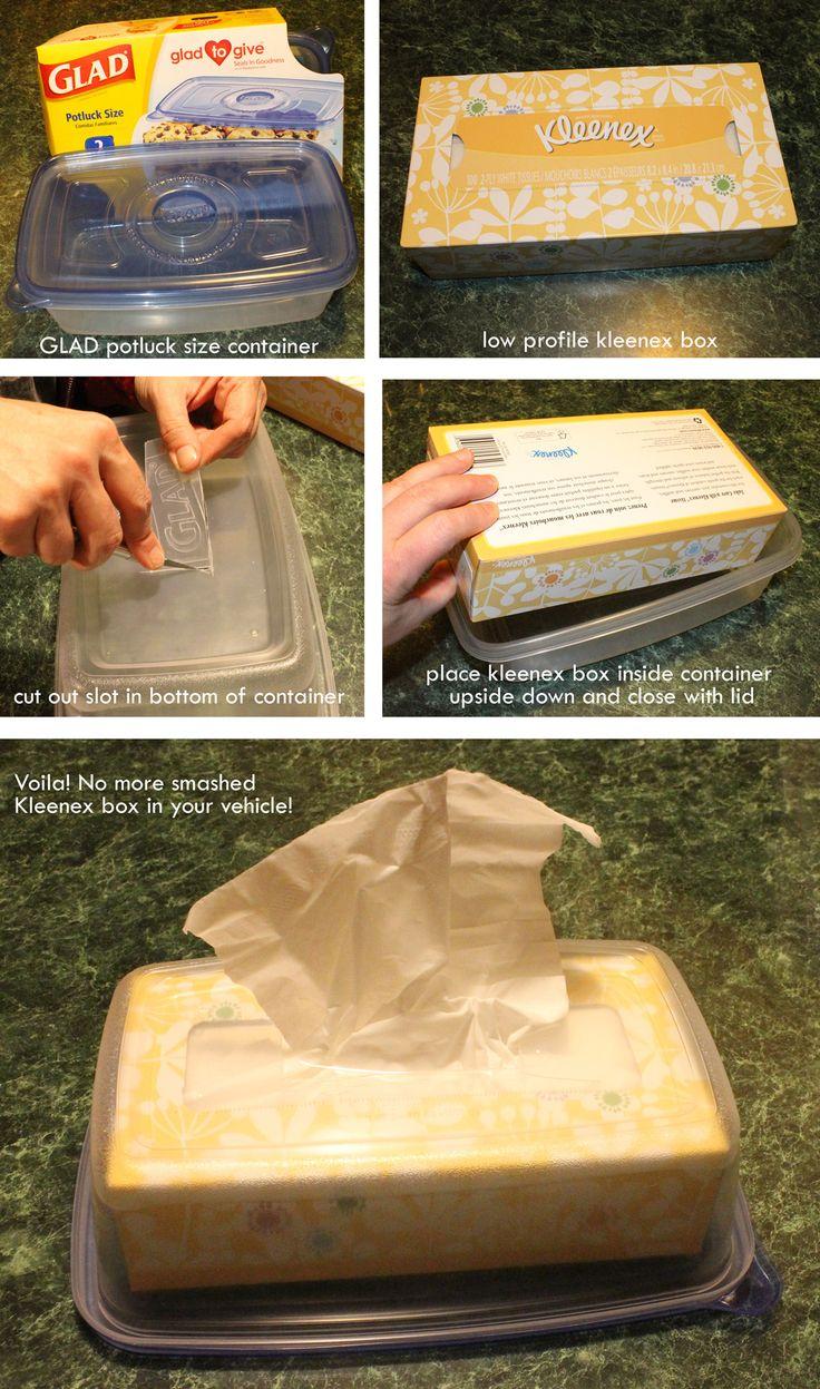 tissue box for car