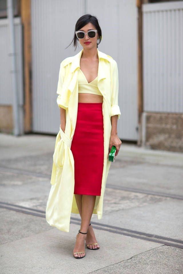 From The Shoes Up: Color Block   Bright Hues