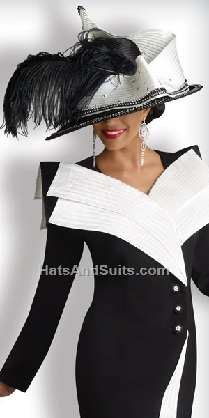 Donna Vinci Couture Church Hat H1341