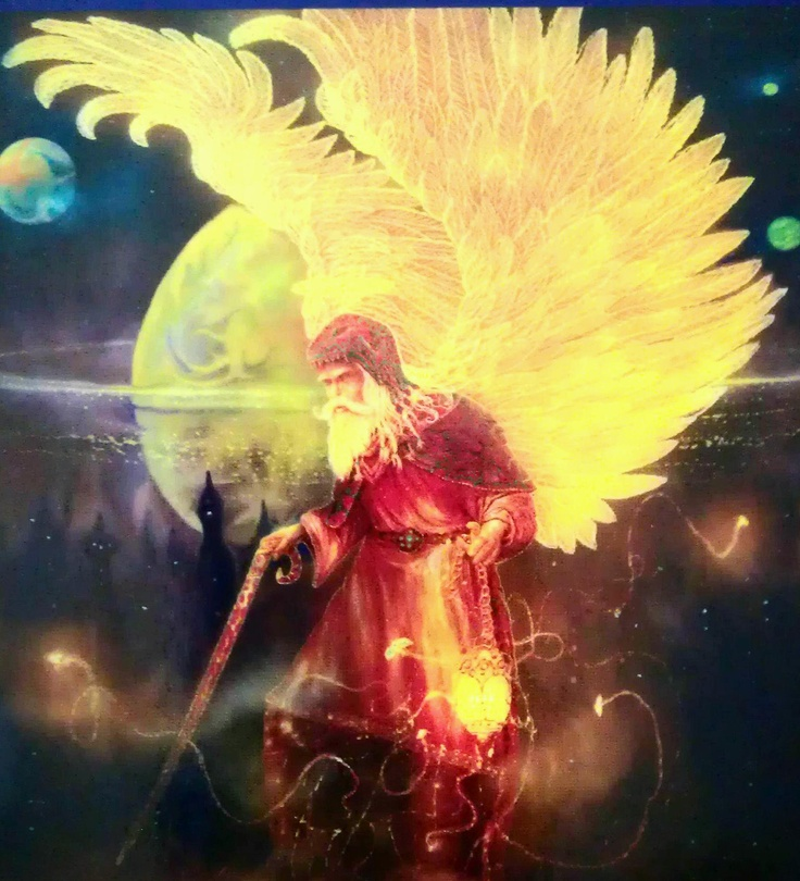 """Archangel Raziel's name means """"Secrets of God""""  He is the wizard and alchemist of the archangel realm. Raziel will help you understand esoteric spiritual ideas and apply them in practical ways; he will open the doors of opportunity for you and speed you on the path of manifestation. Call Archangel Raziel to help you find the richness that comes from meditation and spending time alone in contemplation      --Doreen Virtue"""
