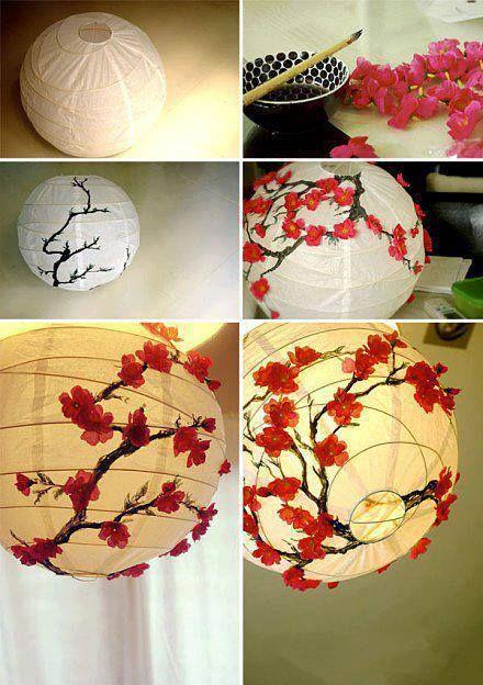 Virágos lámpa