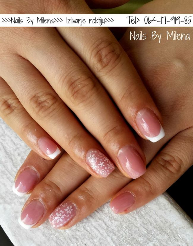 French Nails Pinterest