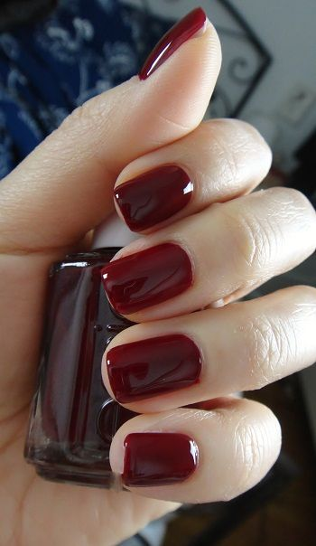 Oxblood Polish