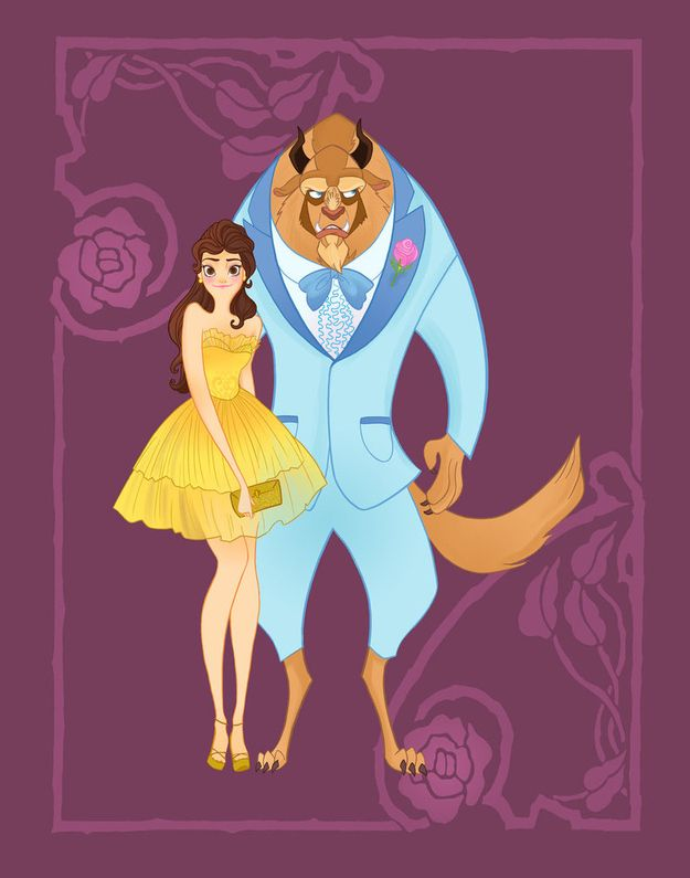 14 Disney Couples Go To Prom