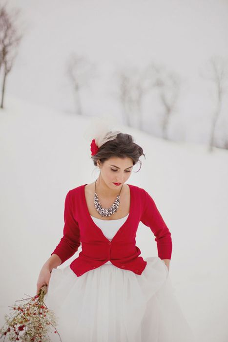 Winter Wedding Fashion