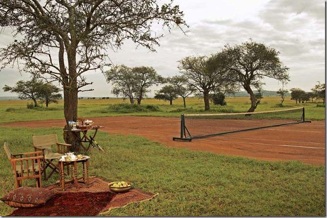#Tenis en La Sabana africana