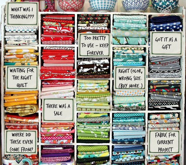 What's REALLY in your fabric stash?