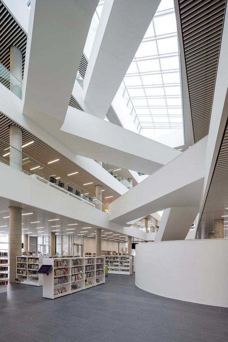 New Halifax Central Library, Halifax, 2014 by @shlarchitects #LibraryArchitecture #LibraryBuildings #LibraryDesign
