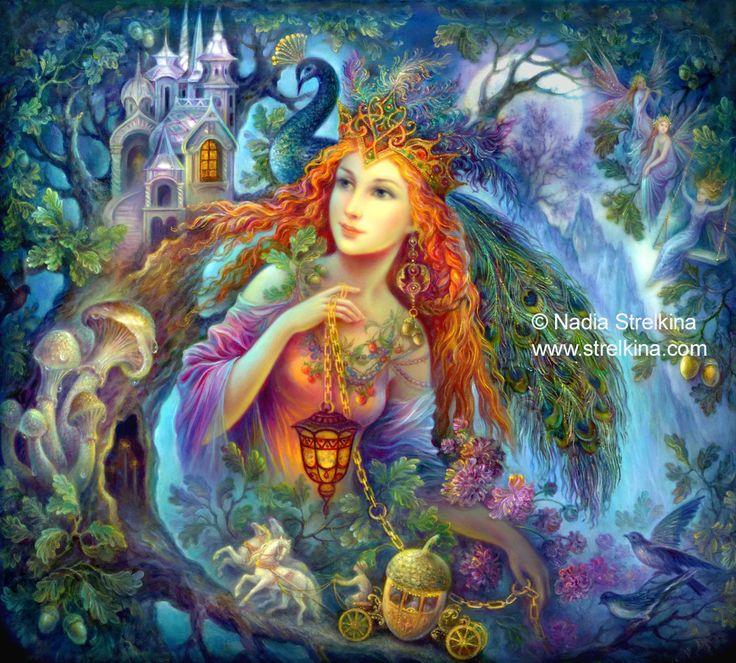 Artist Nadia Strelkina