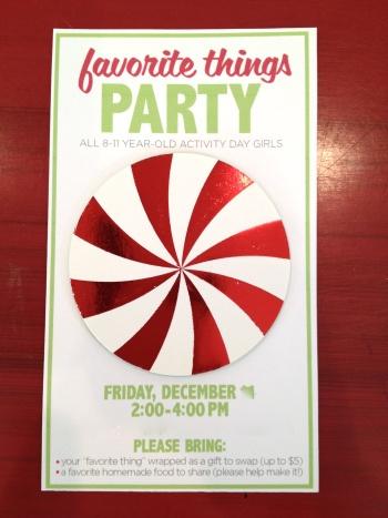 cute christmas party idea