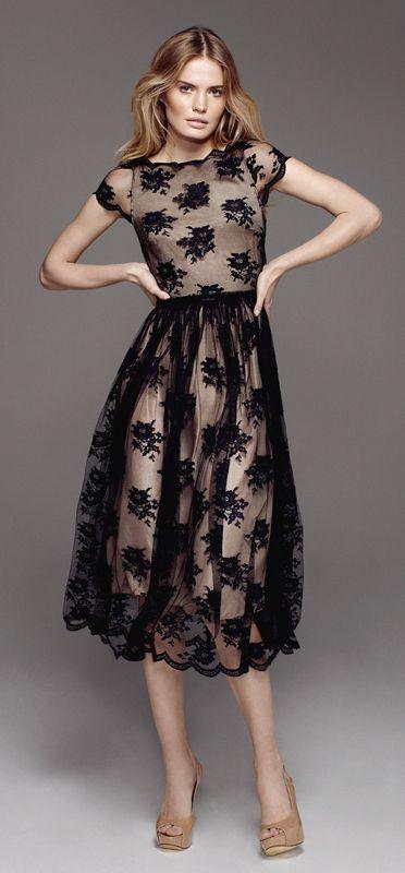 lovely black + neutral print,