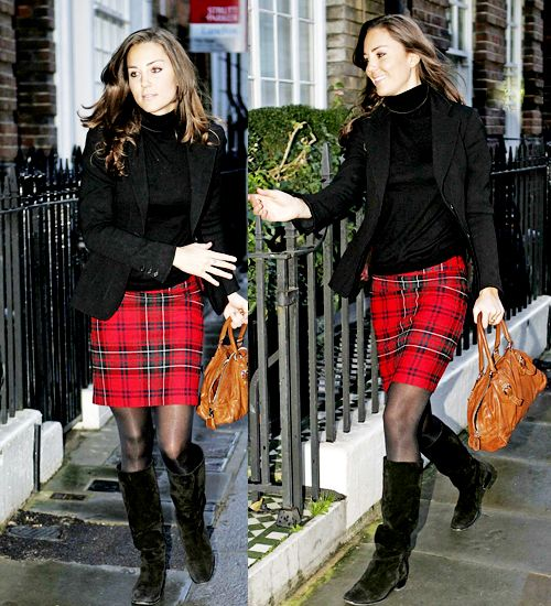 i should be studying... but instead im taking this time to admire Kate and her tartan skirt