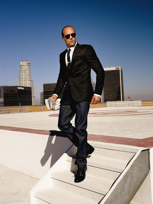 sharp. (pictured: Jason Statham) #menstyle #fashion