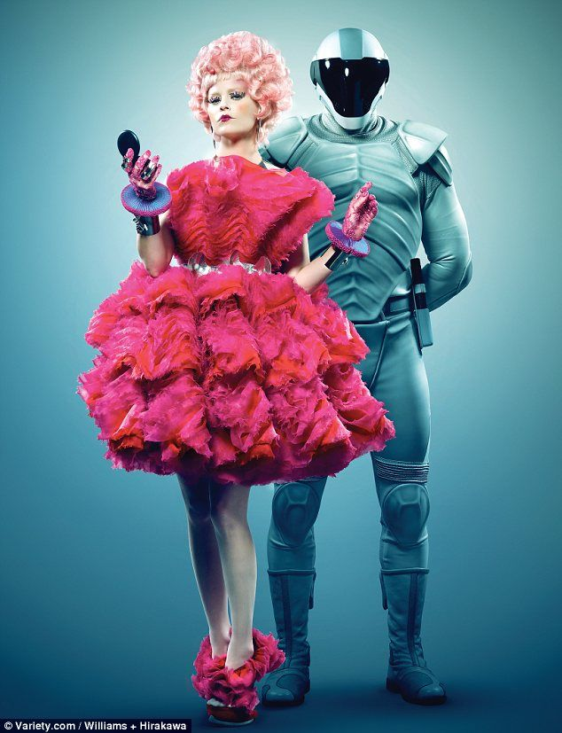 fun costume idea! Elizabeth Banks as Effie Trinket (Hunger Games)